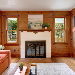75 Beautiful Rustic Living Room Pictures Ideas February 2021 Houzz