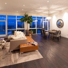 Contemporary Living Room by Susan Manrao Design