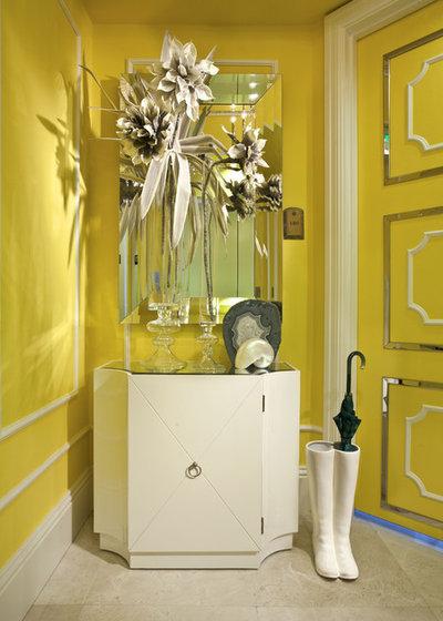 Eclectic Living Room by DKOR Interiors Inc.- Interior Designers Miami, FL