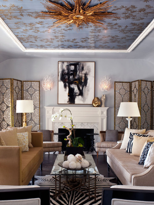 Ceiling Designs Living Room Houzz