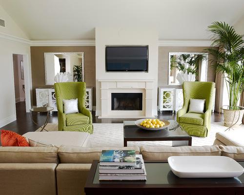 Green Accent Chair Houzz