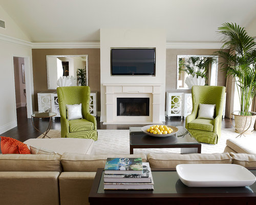 SaveEmail - Green Accent Chair Houzz
