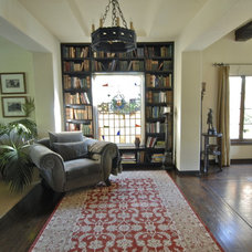 Mediterranean Living Room by Brenda Olde
