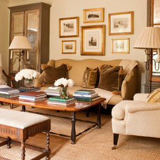 Traditional Living Room by Tammy Connor Interior Design