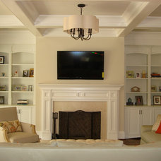 Traditional Living Room by Hardwood Creations