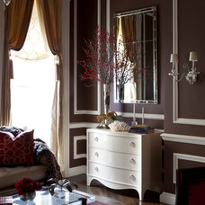 Traditional Living Room by James Rixner, Inc.