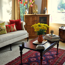 Eclectic Living Room by My Dream Canvas