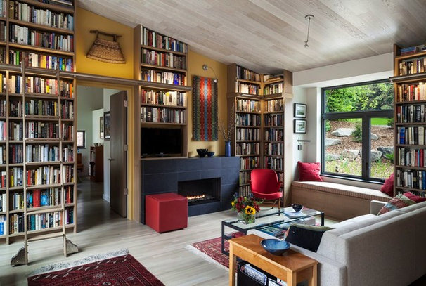 Contemporary Living Room by Homes By Architects Tour