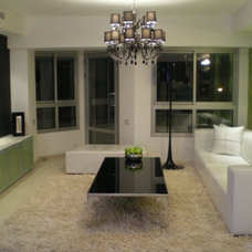 Modern Living Room by adi