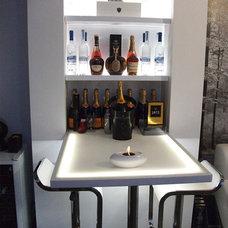 Modern Living Room Home bar