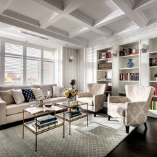 Transitional Living Room by Webb & Brown-Neaves