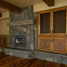 Traditional Living Room by Unique Design Cabinet Company