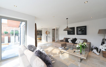Houzz Tour: A 1920s House Reinvented as a Chic Modern Family Home