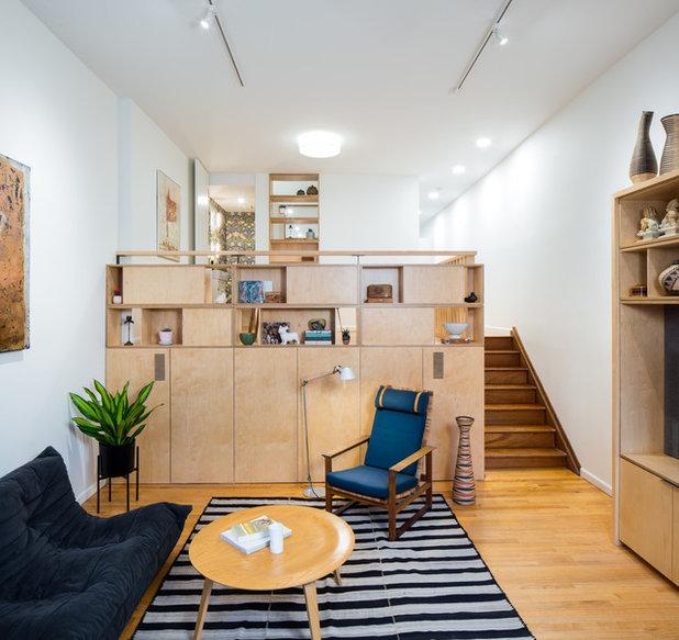 Scandinavian Living Room by Swiatocha Architecture + Design