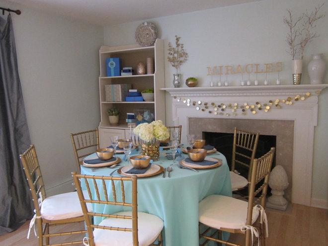 Eclectic Living Room by Rita from Design Megillah