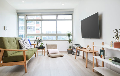 Houzz Tour: Scandi Flair Meets Japanese Minimalism in This Flat