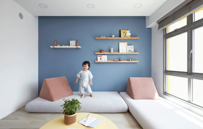 Houzz Tour: This 4-Room Flat is Warm and Cosy with 'Wood' Details