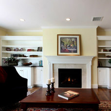 Traditional Living Room by Eric H. Gjerde AIA