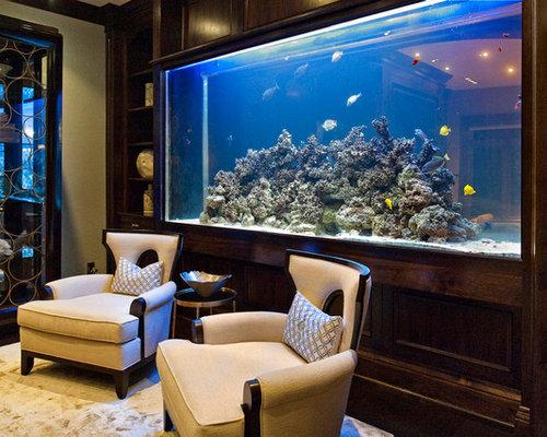 indoor aquarium | houzz