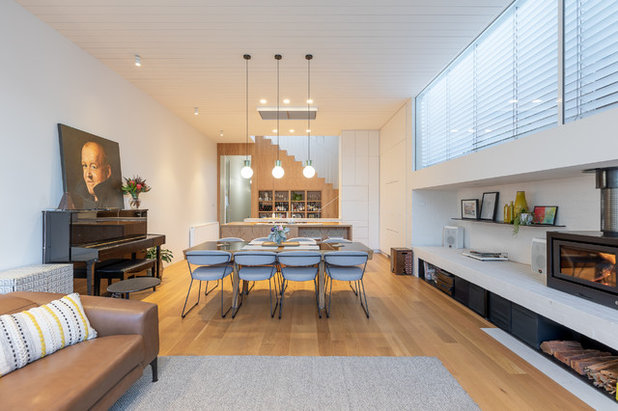 Contemporary Living Room by Capital Image
