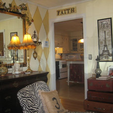 Eclectic Living Room by Vintage Salvation