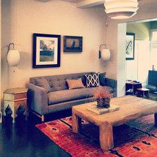 Traditional Living Room by Julie Babin Design