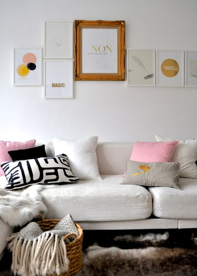 Eclectic Living Room by sarah & bendrix