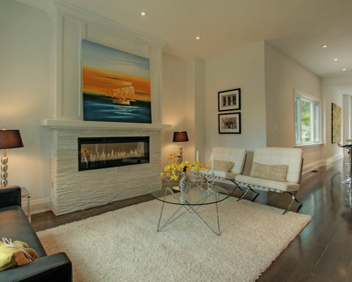 Art Above Fireplace | Houzz