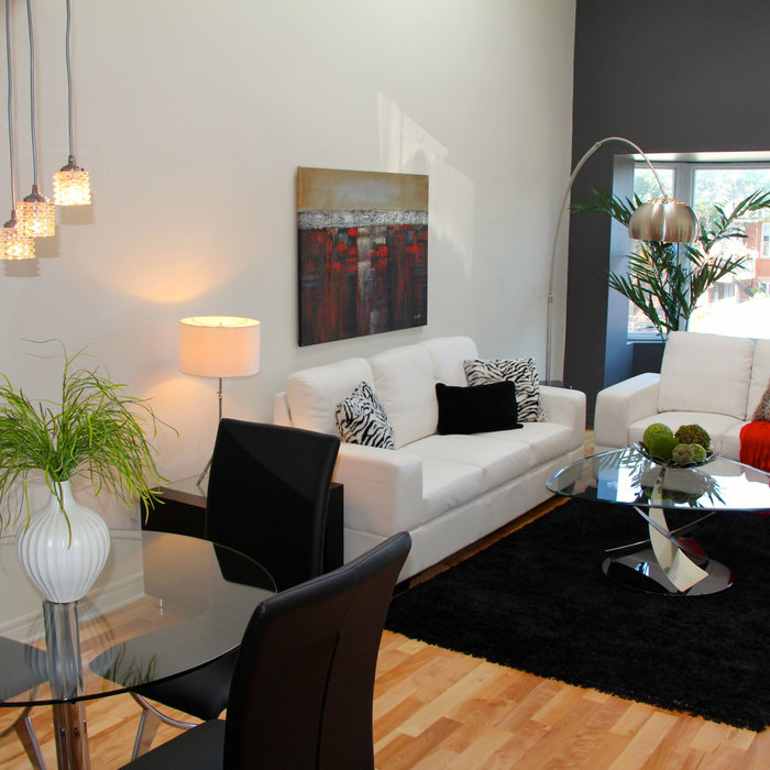 Vacant Home Staging - Le Plateau