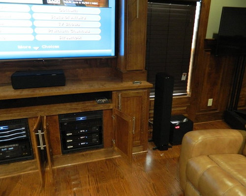 Home Theater Wood Cabinets Home Design Ideas Pictures