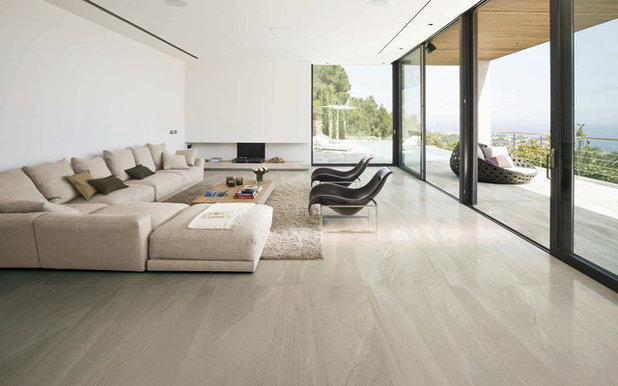 Modern Living Room by VersaTile Surfaces