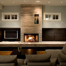 Contemporary Living Room by Janice Girard Design
