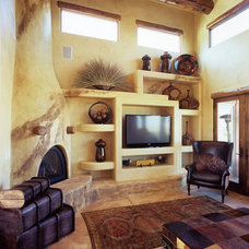 Mediterranean Living Room by CP Designs Colorado