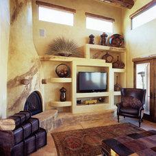 Southwestern Living Room by CP Designs Colorado