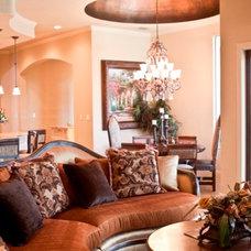 Mediterranean Living Room by MSA ARCHITECTURE + INTERIORS