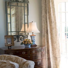 Traditional Living Room by Linn Gresham Haute Decor