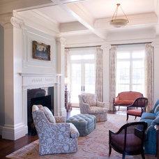 Traditional Living Room by Linn Gresham Haute Decor