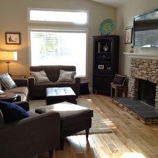 Eclectic Living Room Honeysuckle House