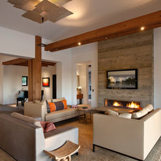 Contemporary Living Room by Chris Moore Interior Design