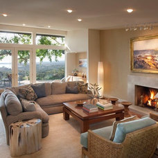 Contemporary Living Room by Dana Berkus Interiors