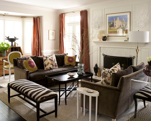 Brown Velvet Sofa Home Design Ideas Pictures Remodel And