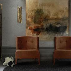 Contemporary Living Room by BRABBU