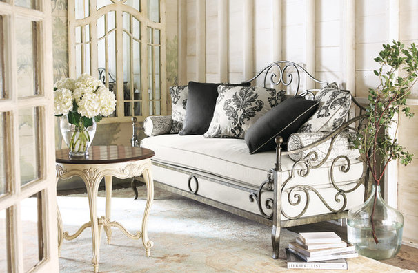 Traditional Living Room by Horchow