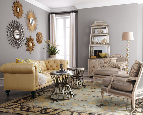 best gray gold living room design ideas & remodel pictures | houzz
