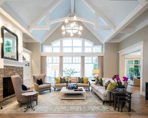 Vaulted Ceiling Design Ideas Houzz
