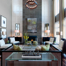 Contemporary Living Room by Atmosphere Interior Design Inc.