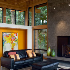 Contemporary Living Room by Scott Edwards Architecture