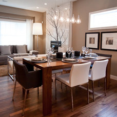 Contemporary Dining Room by Natalie Fuglestveit Interior Design