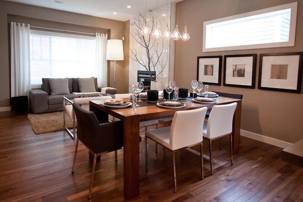 Contemporary Dining Room by Natalie Fuglestveit Interior Design