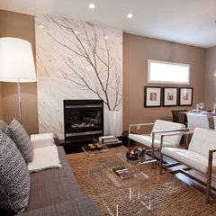 modern living room by Natalie Fuglestveit Interior Design
